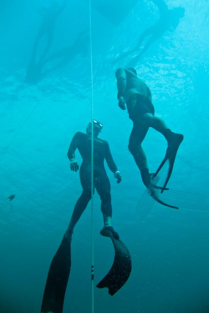 Going Deeper: Will Trubridge's Master Class freediving  freediving Blue Hole bahamas