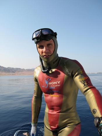 Freediver Wetsuit Dahab 2007