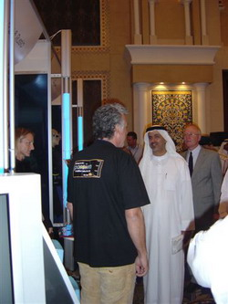 Dive Middle East Exhibition 2005 Part I scuba profiles reviews  scuba diving