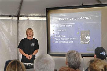 Martin Lecturing Ocean Fest 2007