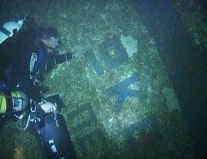 Diving The Oceanos DeeperBluecom - Sinking cruise ship oceanos