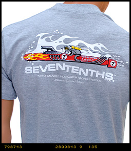 Seven Tenths launch new T Shirts scuba diving  scuba diving news