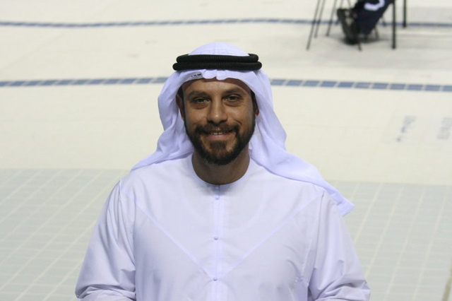 Adel at the Fazza comp 2011
