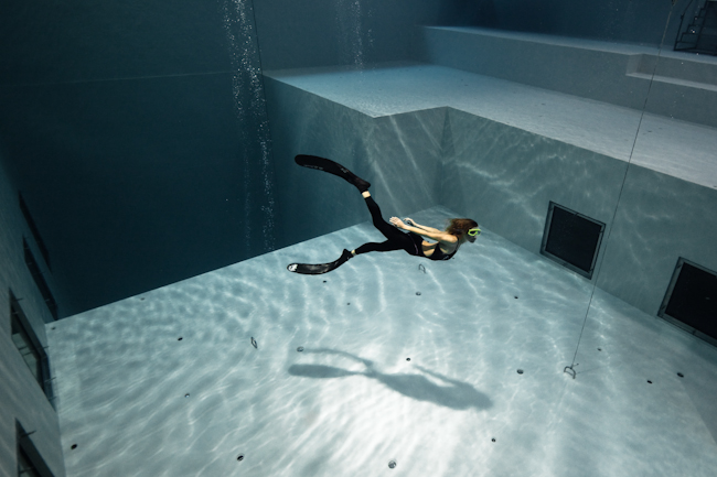 Nemo33 Opens for Freediving Clubs freediving  news freediving