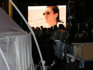 David Blaine - Audrey Mestre on big Screen