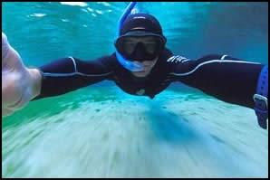 Tim Calver Underwater