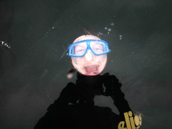 Diver Trapped Under Ice