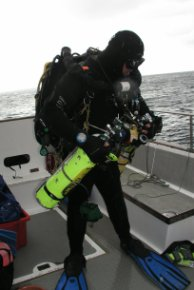 Pete After the dive