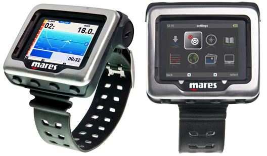 New Mares Icon HD Dive Computer: High Definition Dive At DEMA scuba  scuba diving news