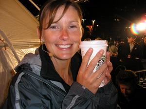 David Blaine - Mandy-Rae with Starbucks