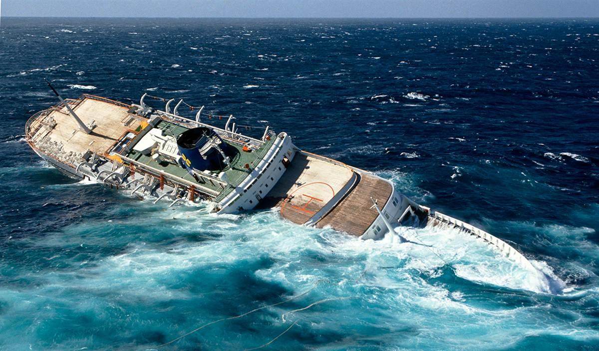 Oceanos sinking