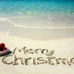 Merry Christmas - Beach