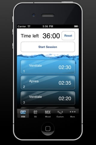 iPhone Apps for Freedivers 7