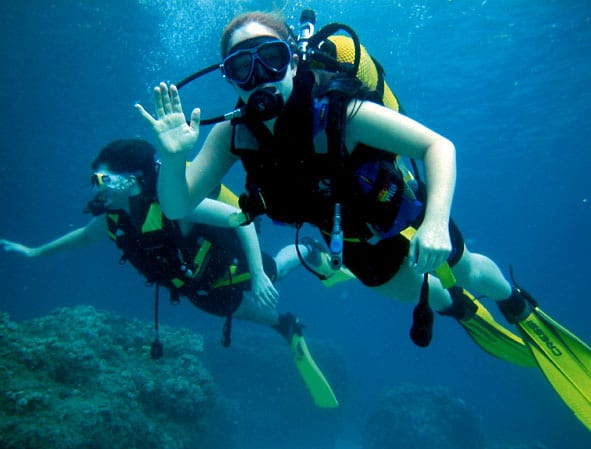 New Celebrity Fitness Trend: Scuba Diving scuba education training scuba diving  shape magazine scuba diving scuba news fitness
