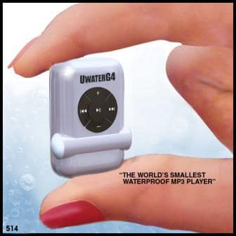 World's Smallest Waterproof MP3 Player 1