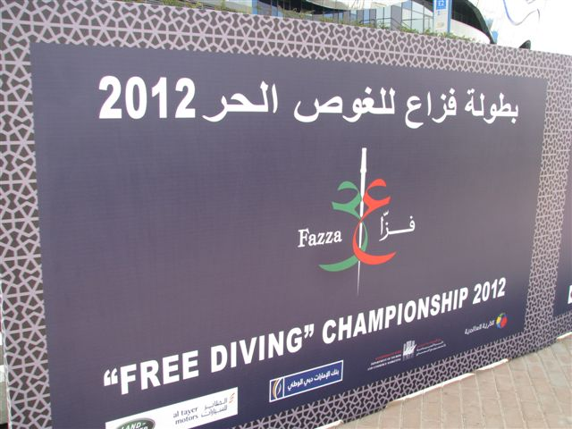 Video from Fazza Freediving Championship 2012 3