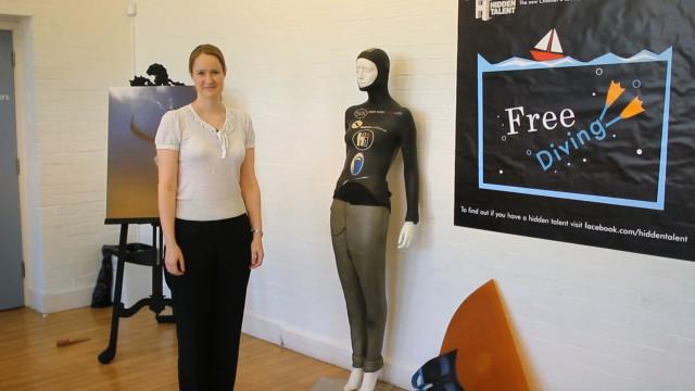 """UK TV Show explores Freediving in """"Hidden Talent"""" 1"""