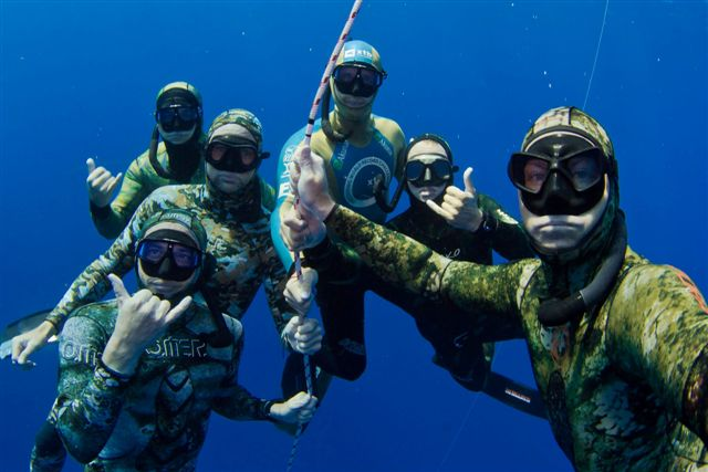 Kona Camp 2012 - Freediving with FII 1