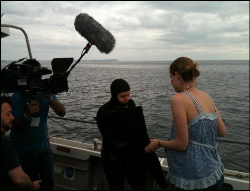 Exclusive interview with TV's Hidden Talent Freediver Roxanne Messenger 2