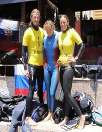Natalia Molchanova Re Claims Constant (unassisted) World Record freediving competition records  world record news natalia molchanova freediving deepest woman constant weight CNF