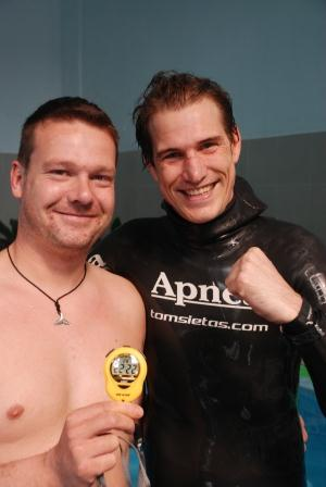 Tom Sietas Sets New Guinness World Record for O2 Static Apnea 1