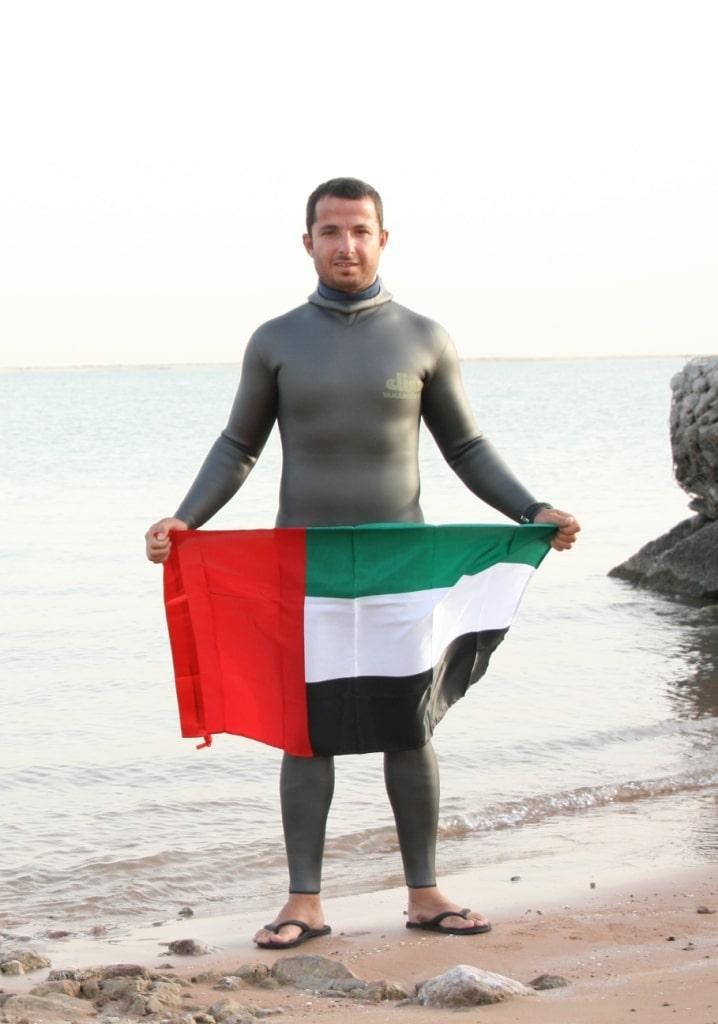 Ahmed Khoori - New Emirati Freediving Champion 1