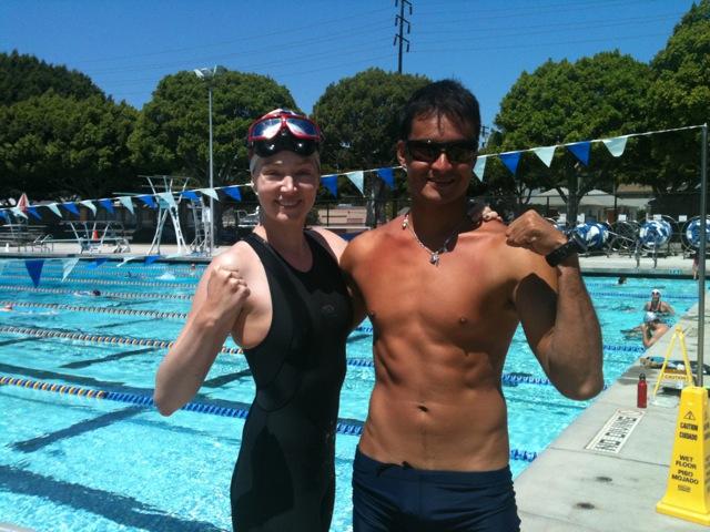 LA Apnea Challenge NR record-setters McGrath and Hernandez