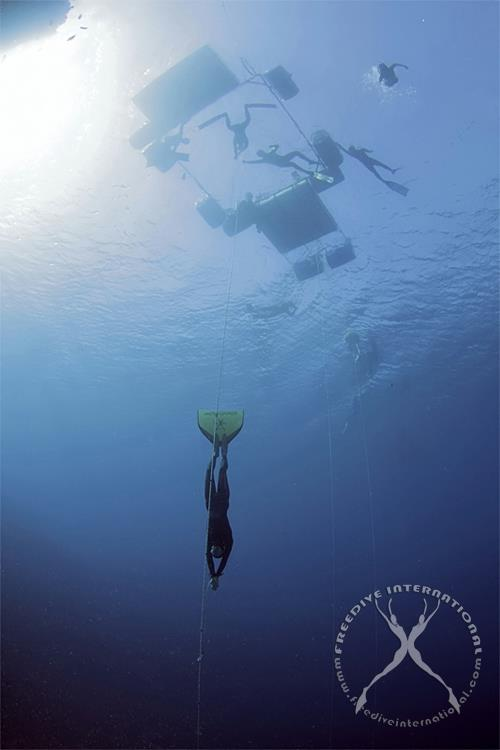 """More Freediving Records fall in Day 2 of """"Triple Depth"""" 2"""
