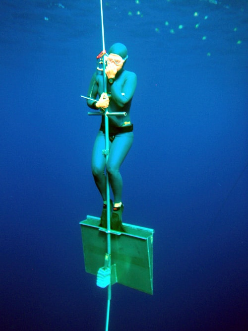 Annelie Pompe sets sights on Tanya Streeter's No Limit Freediving Record 2