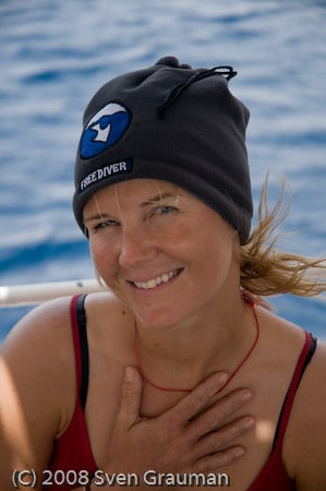 Annelie Pompe sets sights on Tanya Streeter's No Limit Freediving Record 4
