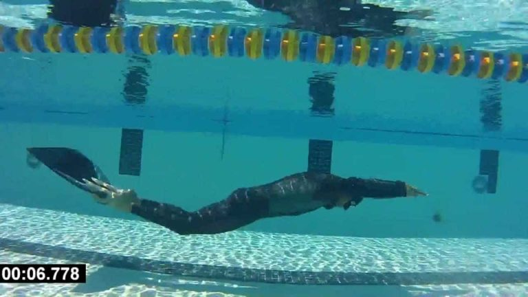 [VIDEO] Tanc Sade 201m Dynamic Apnea