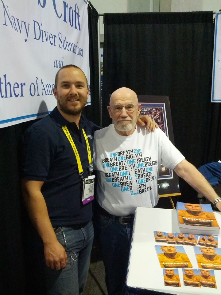 DEMA Show 2012: Bob Croft - Navy Diver, Submariner and Father of Freediving 3