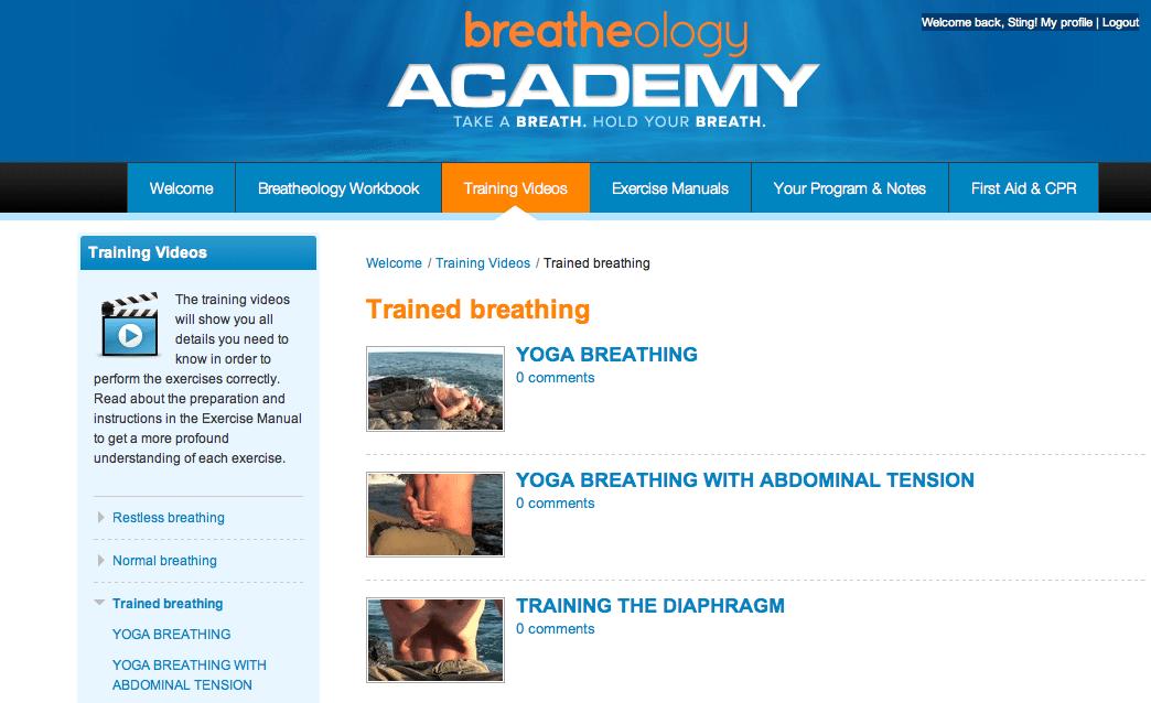 Stig Severinsen launches online Breatheology Academy 3