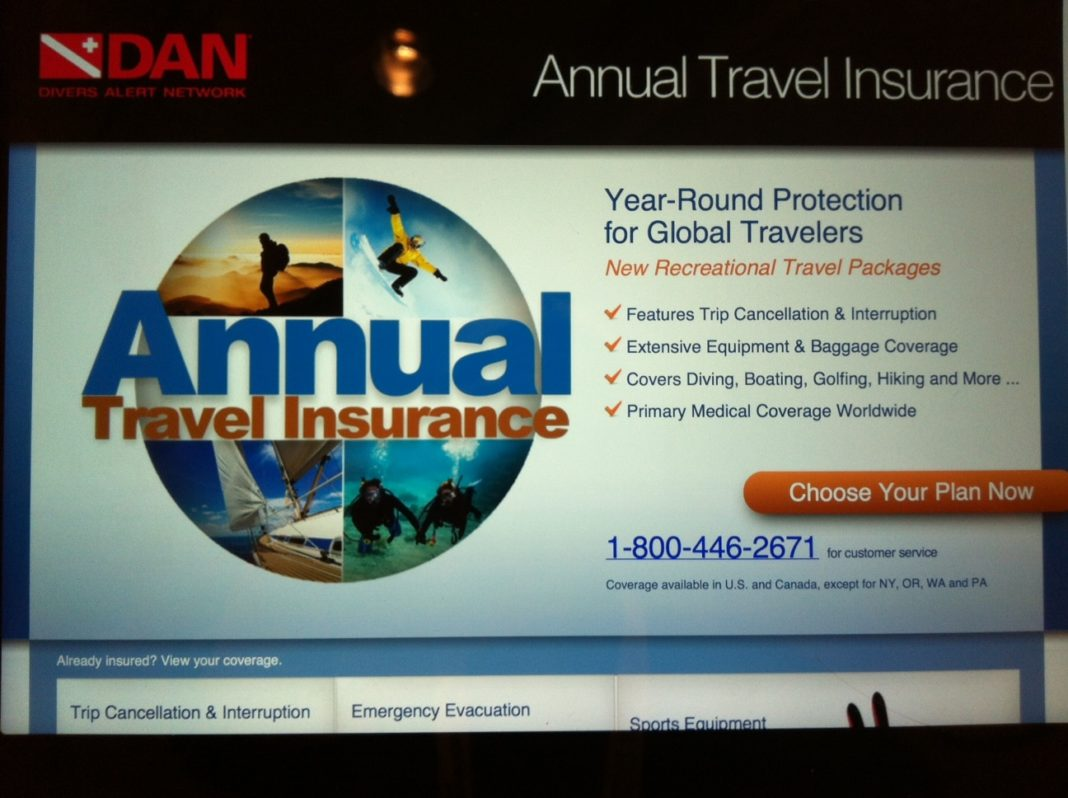 DEMA Show 2012: DAN Introduces New Annual Travel Insurance Product 2