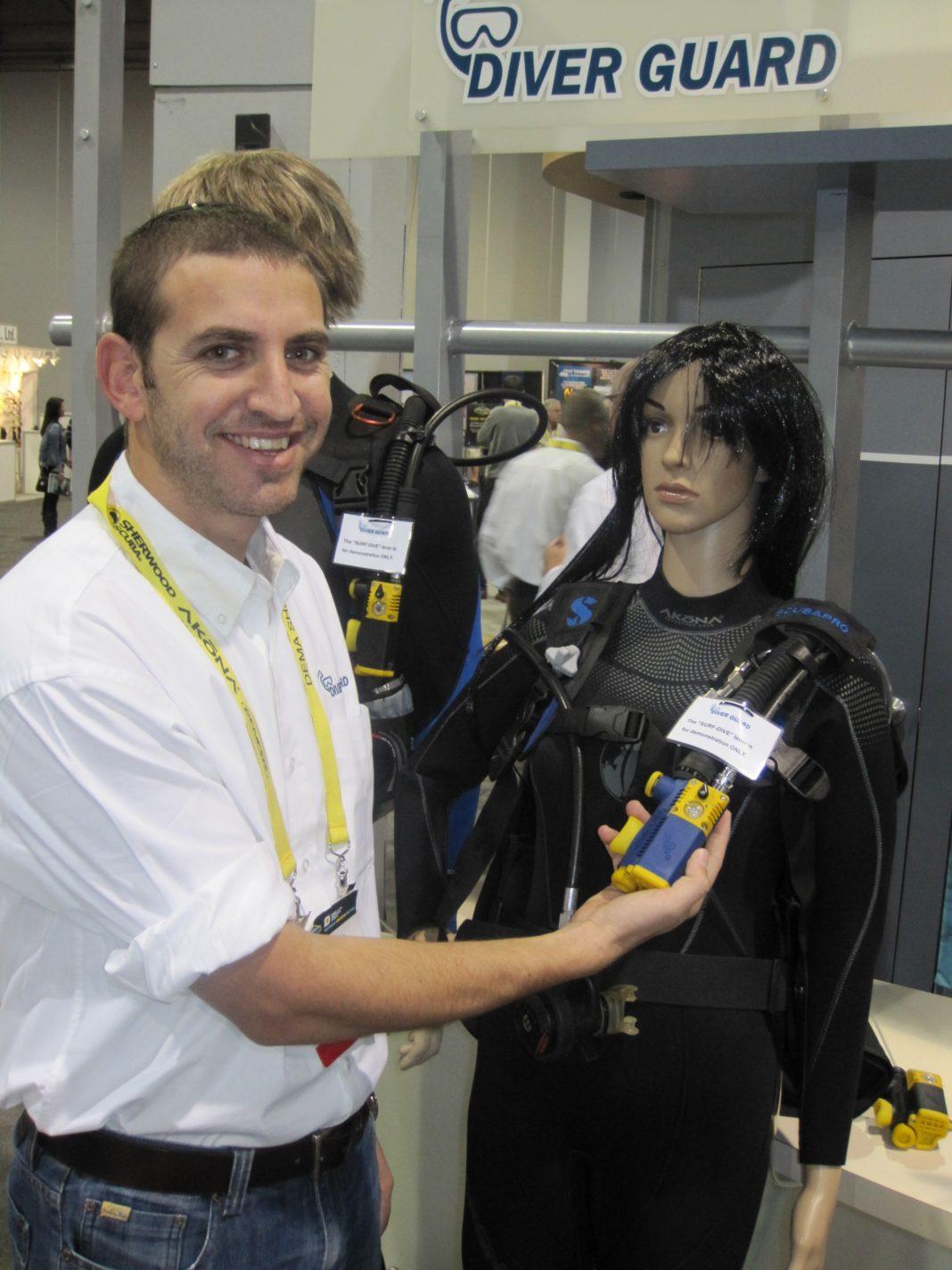 DEMA Show 2012: DiverGuard Unveils Cutting Edge Diver Safety Device 3