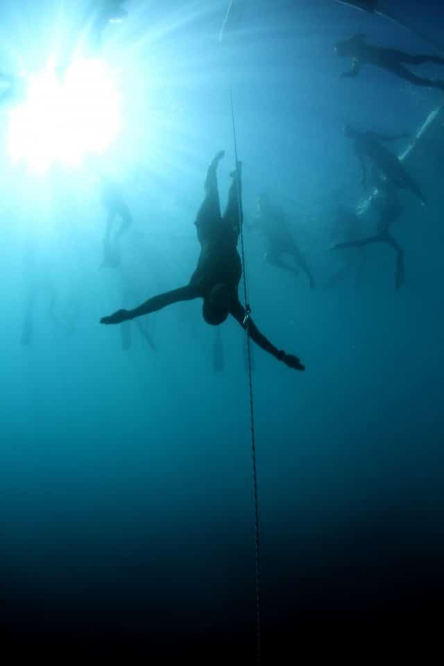 Alena Zabloudilová Sets Freediving Record for Czech Republic 1