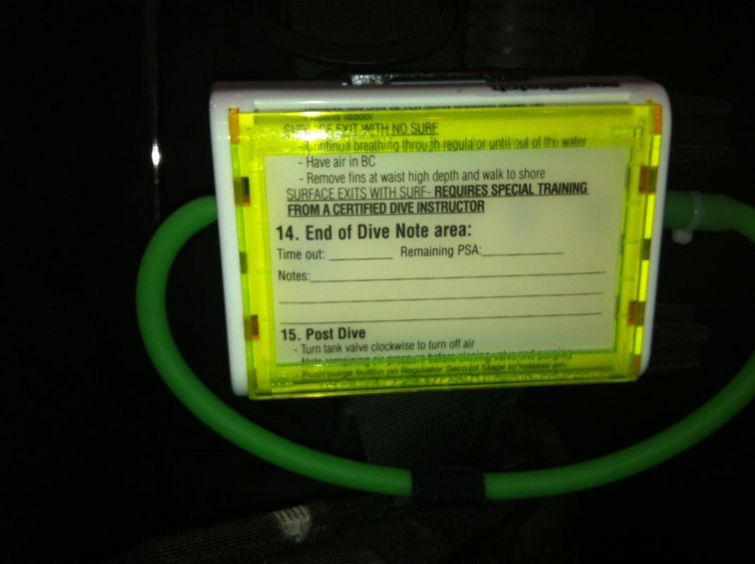 DEMA Show 2012: AquaSketch Introduces New Waterproof Checklists 3