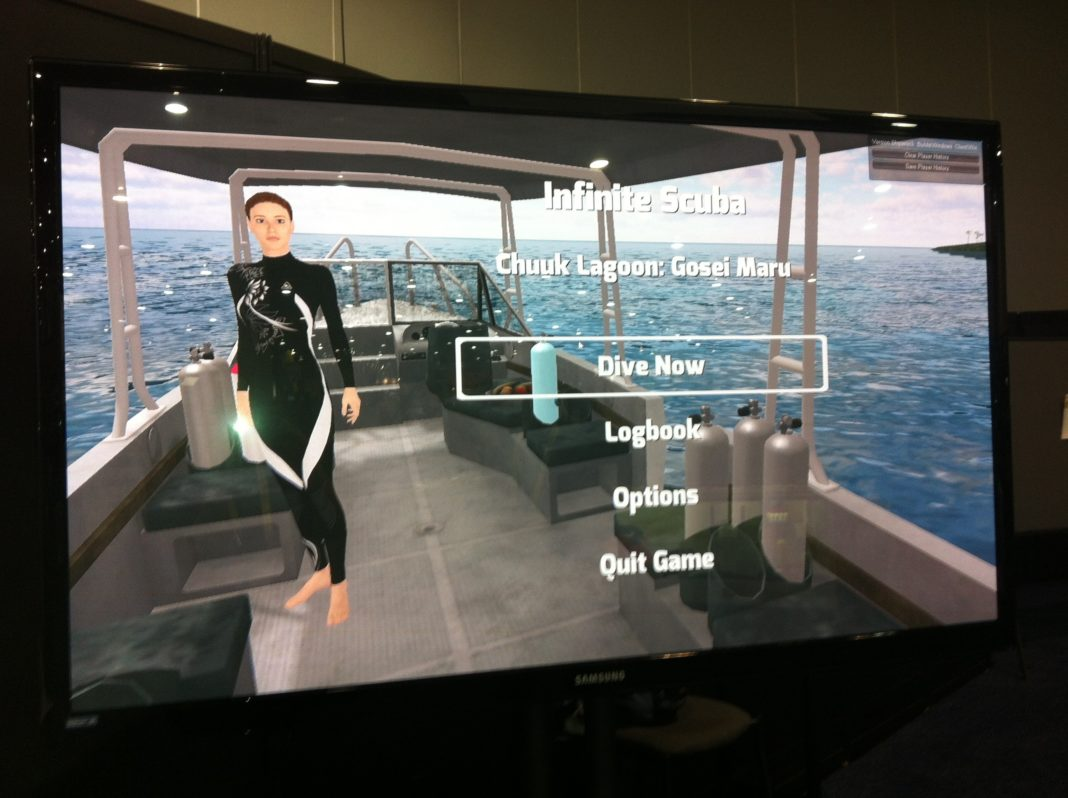 DEMA Show 2012: Cascade Game Foundry Partners With Sylvia Earle On New Scuba Diving Computer Simulation Game 3