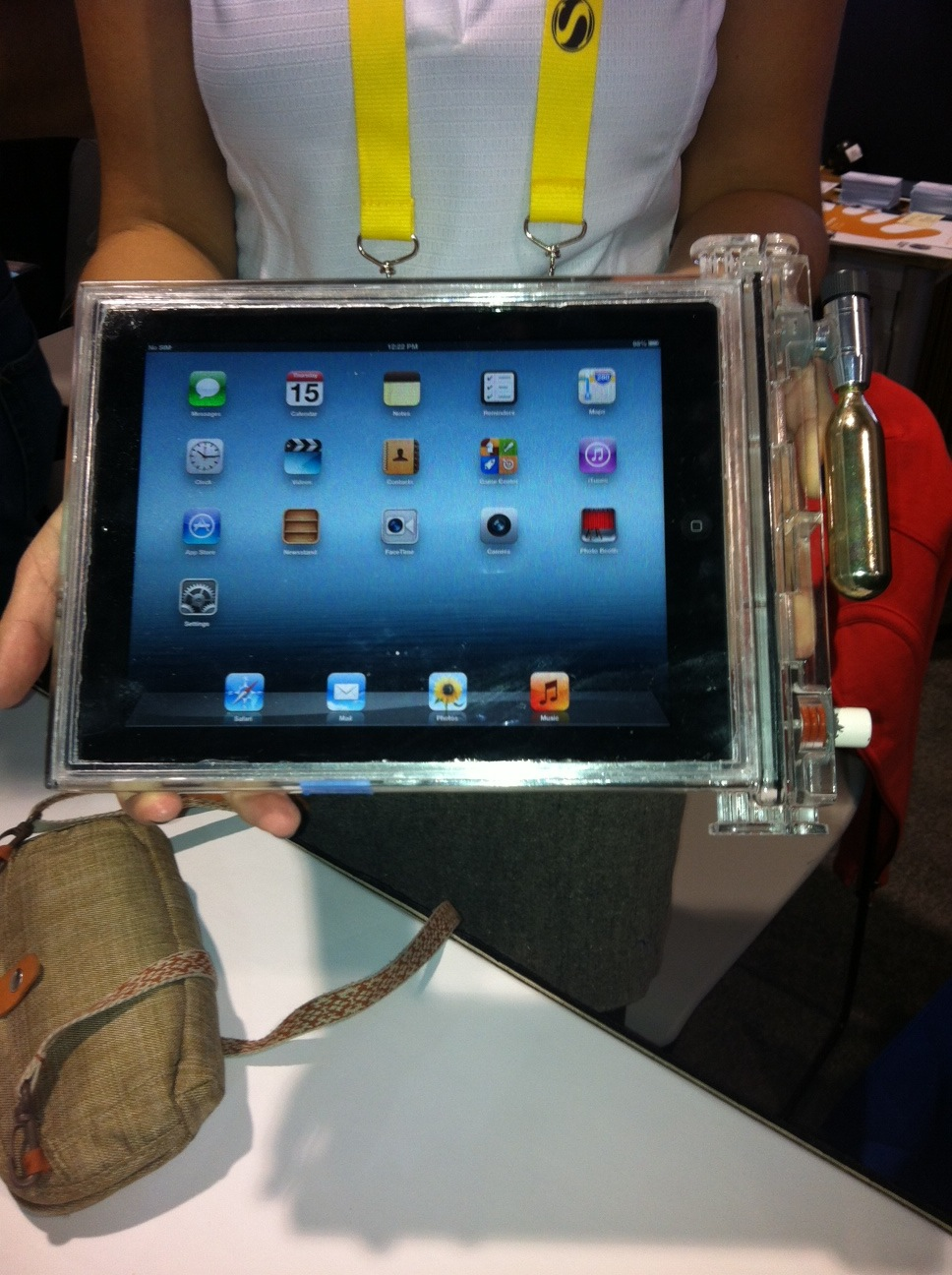DEMA Show 2012: New Underwater iPad Housing Introduced At DEMA 2012 2