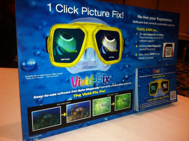 DEMA Show 2012: New Software For Fixing Underwater Pictures Introduced At DEMA 2012 1