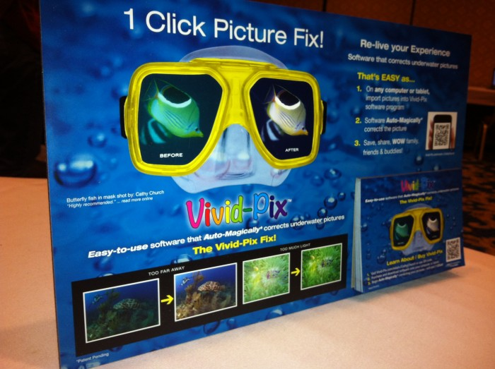 DEMA Show 2012: New Software For Fixing Underwater Pictures Introduced At DEMA 2012 2