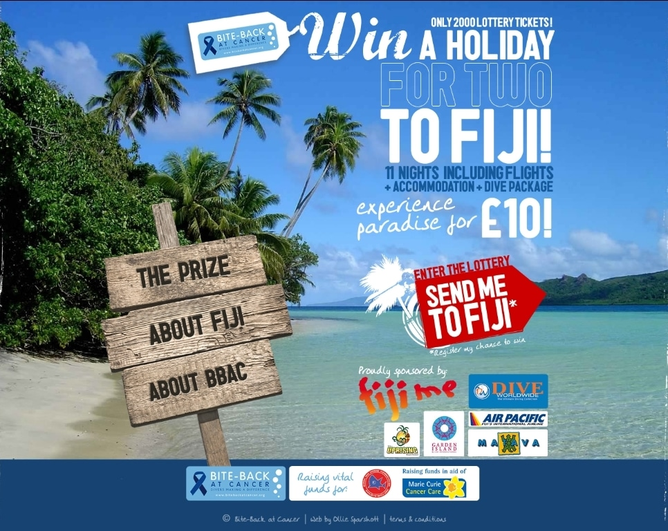 Win an 11 Day Diving Trip to Fiji 2