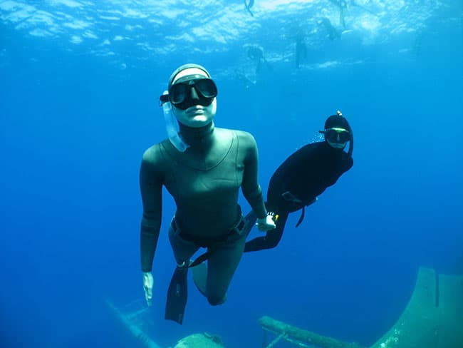 Emma Farrell teams up with Scuba Travel for Freediving Liveaboard Holidays 2