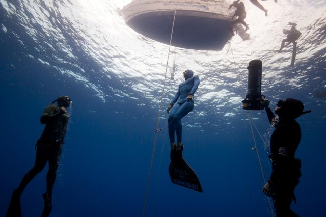 Guillaume Néry Sets New Freediving Record for France