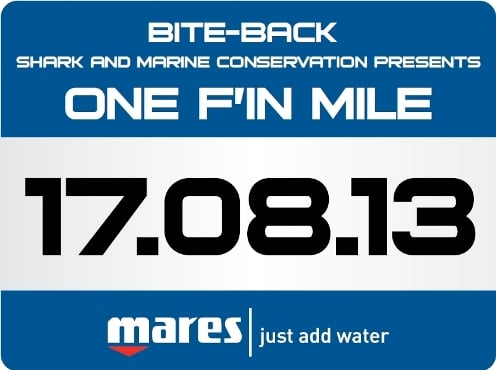 "DeeperBlue.com Founder Walking ""One F'in Mile"" for Shark and Marine Conservation"