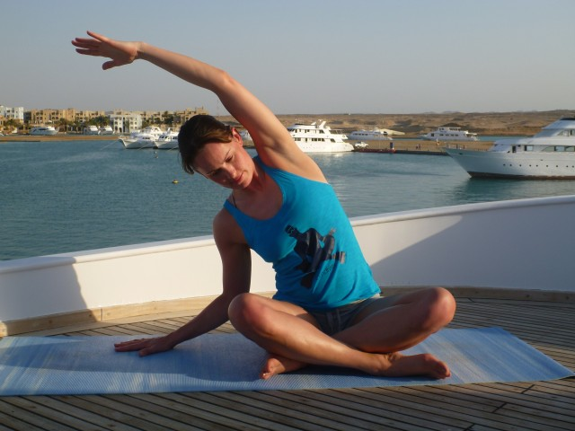 Yoga on a Liveaboard