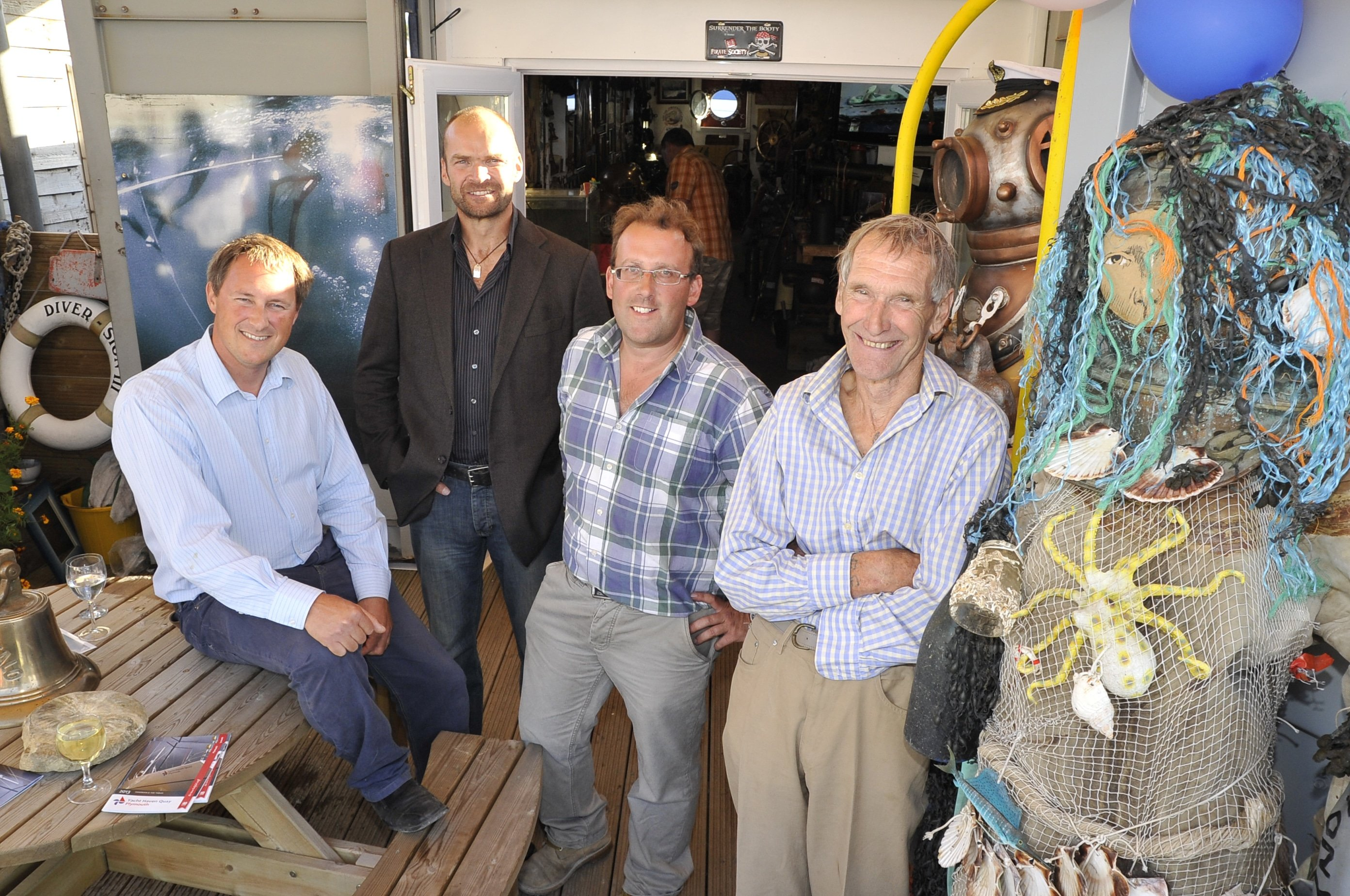 Monty Halls Opens New Dive Museum In The UK
