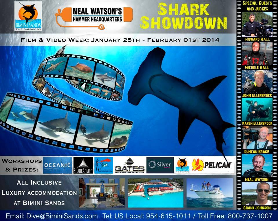 Neal Watson's and Bimini Sands SHARK SHOWDOWN 2014 Announced 1