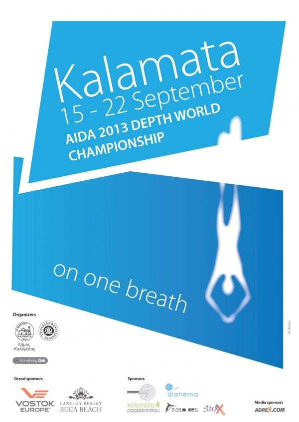 AIDA 2013 Individual Depth World Championships freediving competition records  world championships william trubridge Tomoka Fukuda Stavros Kastrinakis kalamata freediving alexey molchanov AIDA