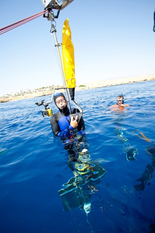 William Winram Sets Freediving World Record in Egypt 1